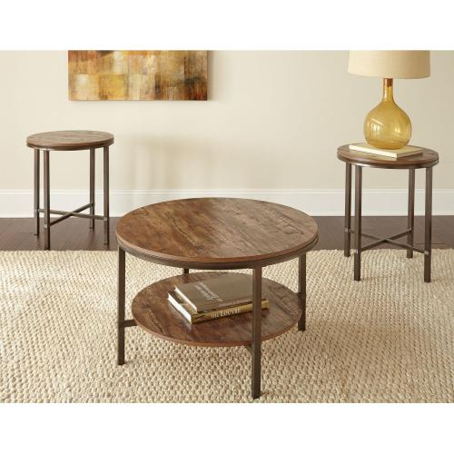 Sedona Silvershield 3-Pack Set(Pack Includes Cocktail & 2 End Tables)