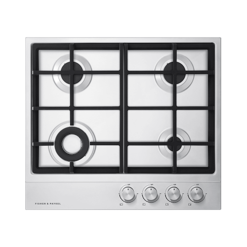Gas on Steel Cooktop, 24""