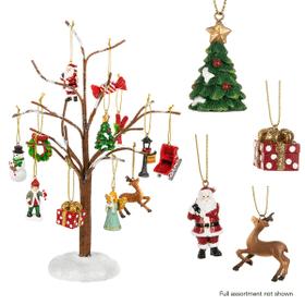 Winter Tree & Ornaments Assortment (25 pc. assortment)