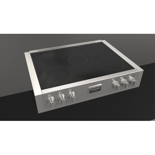 """36"""" Induction Range Top - Stainless Steel"""