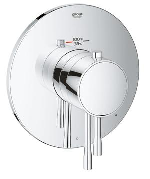 GrohFlex Essence Single Function Thermostatic Trim with Control Module Product Image