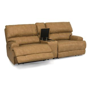 See Details - Floyd Power Reclining Loveseat with Console and Power Headrests
