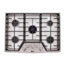 "LG Studio - 30"" Gas Cooktop with the Professional Look of Stainless Steel"