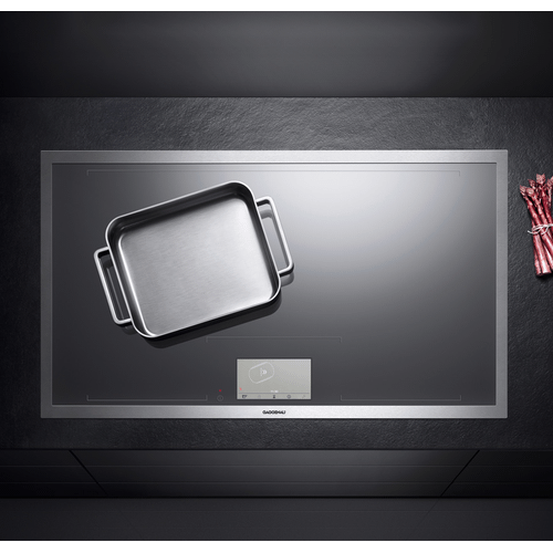 Gagganau CX491610   400 series Vario 400 series full surface induction cooktop Stainless steel frame Width 36""