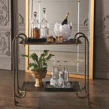 Blade Bar Cart-Bronze