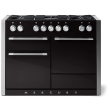 "See Details - Aga Mercury 48"" Dual Fuel Model, Gloss Black"