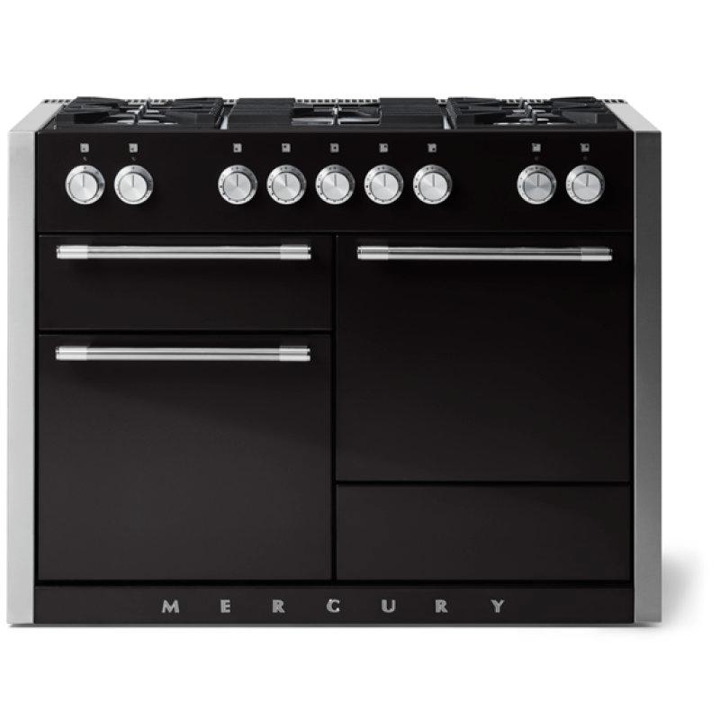 "Aga Mercury 48"" Dual Fuel Model, Gloss Black"