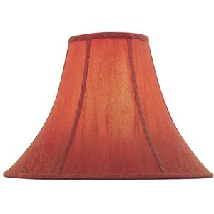 """Red Bell Shade - 6""""tx16""""bx12""""sl"""