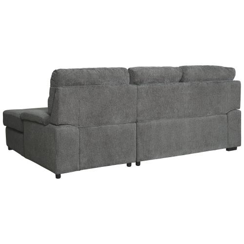 Signature Design By Ashley - Yantis 2-piece Sleeper Sectional With Storage