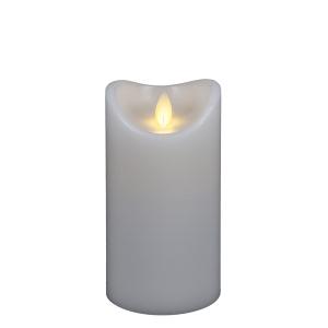 White LED Wax Pillar