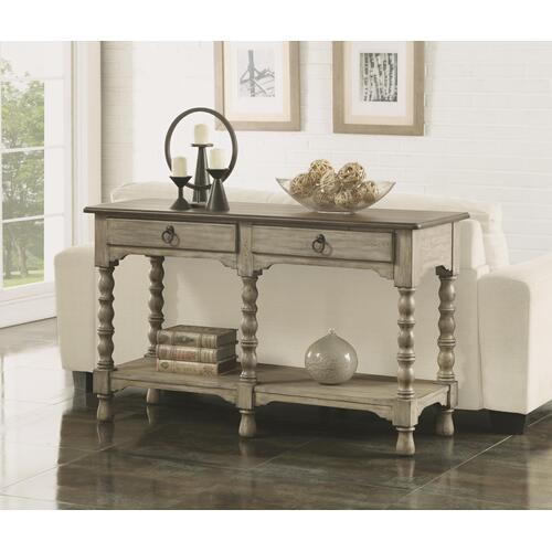 Flexsteel - Plymouth Sofa Table with Drawers