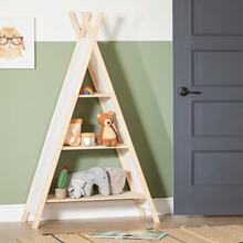 Sweedi - Teepee Shelving Unit, White and Natural