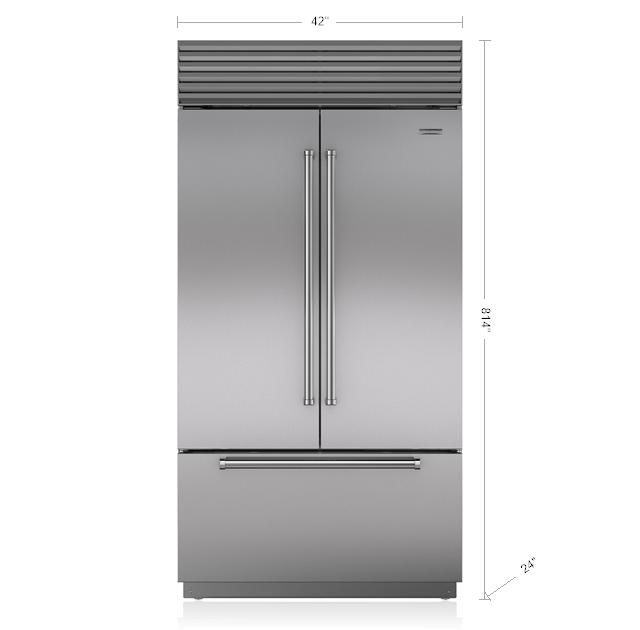 "Subzero42"" Classic French Door Refrigerator/freezer"