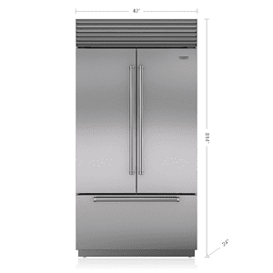 "Subzero42"" Classic French Door Refrigerator/Freezer"