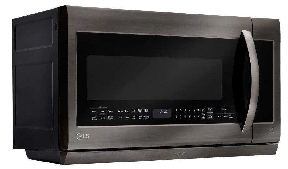 Black Stainless Steel Series 2.2 cu.ft. Over-the-Range Microwave Oven Photo #5