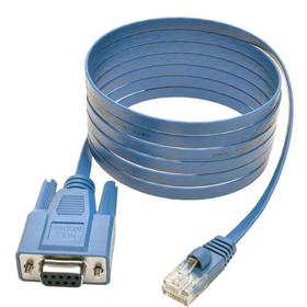 6 ft RJ45 to DB9F Cisco Serial Console Port Rollover Cable