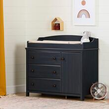 Cotton Candy - Changing Table with Station, Blueberry
