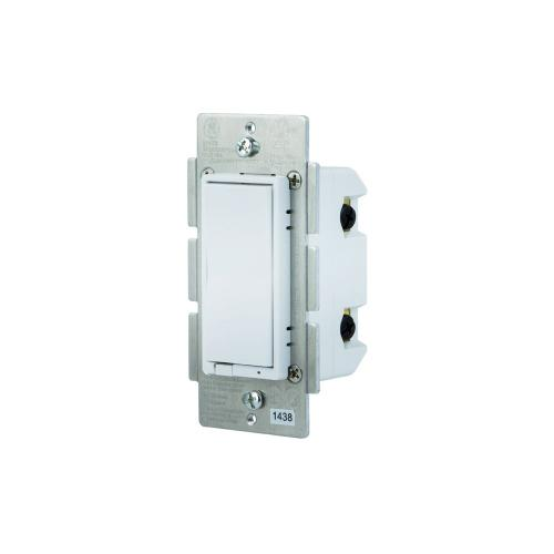 GE In-Wall Paddle Switch (for Works with Ring Alarm Security System) - White