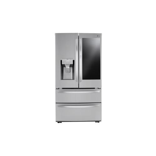 Gallery - 28 cu ft. Smart InstaView® Door-in-Door® Double Freezer Refrigerator with Craft Ice™