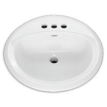 White Rondalyn Countertop Sink