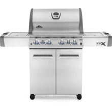 LEX 485 RSIB Infrared Side & Rear Burners , Stainless Steel , Natural Gas