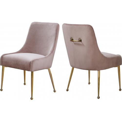 """Owen Velvet Dining Chair - 24"""" W x 21"""" D x 34.5"""" H"""