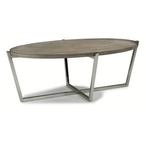 Flexsteel Home - Cadence Oval Coffee Table