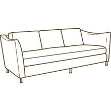 U140-03 Bimini Outdoor Sofa