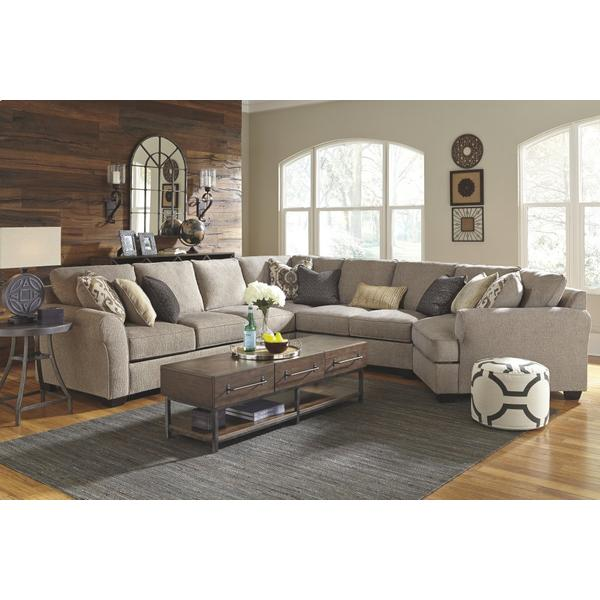Pantomine 5-piece Sectional With Cuddler