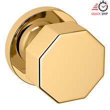 See Details - Non-Lacquered Brass 5073 Estate Knob with 5046 Rose