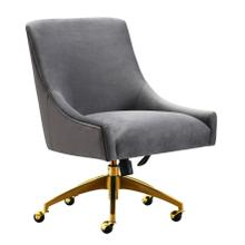 See Details - Beatrix Grey Office Swivel Chair