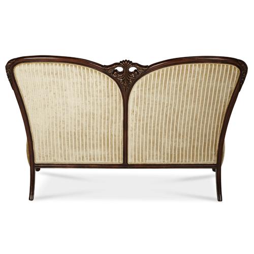 Wood Trim Settee - Grp1/Opt1