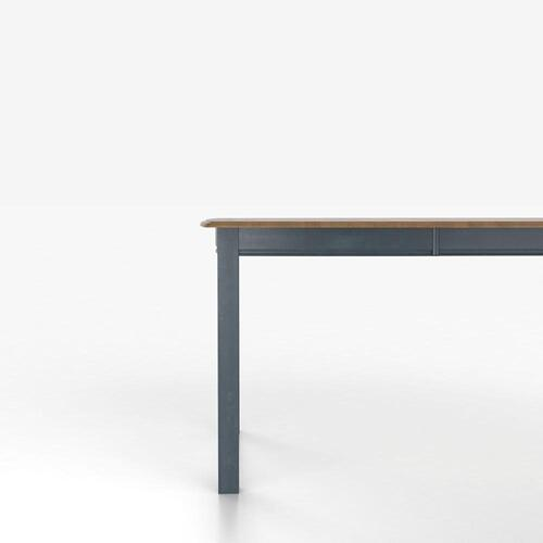 Gallery - Boat shape table with legs