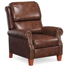 See Details - Alexander Pushback Recliner, Chocolate