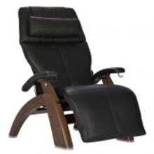 Perfect Chair ® PC-420 Classic Manual Plus - Walnut - Black Premium Leather