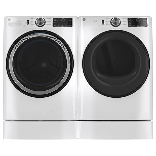 GE Appliances - GE® 7.8 cu. ft. Capacity Smart Front Load Gas Dryer with Sanitize Cycle