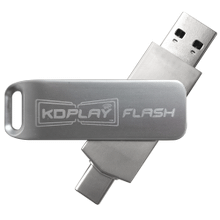 Software Auto-Launch Flash Drive for KD-BYOD4K with Dual Head USB-A and USB-C Connectors