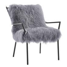 View Product - Lena Grey Sheepskin Chair