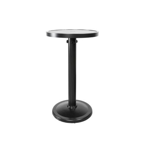 "Monaco 24"" Round Pedestal Bar Table"