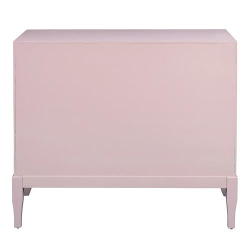 Blush Two Door Accent Chest