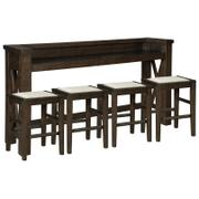 Counter Height Dining Table and 4 Barstools Product Image