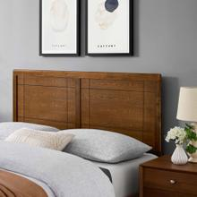 View Product - Archie King Wood Headboard in Walnut