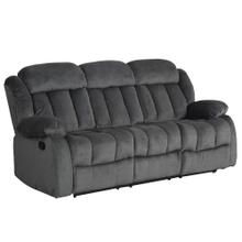 See Details - Reclining Sofa in Charcoal - SU-ZY550 Madison