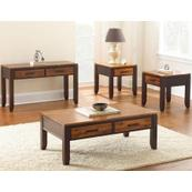 Abaco 3-Piece Set(Cocktail & 2 End Tables)
