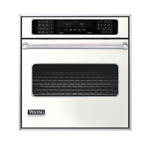 "Cotton White 27"" Single Electric Touch Control Premiere Oven - VESO (27"" Wide Single Electric Touch Control Premiere Oven)"