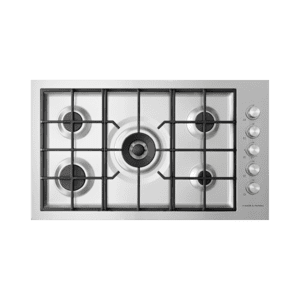 "Gas on Steel Cooktop, 36"", Flush Fit Product Image"
