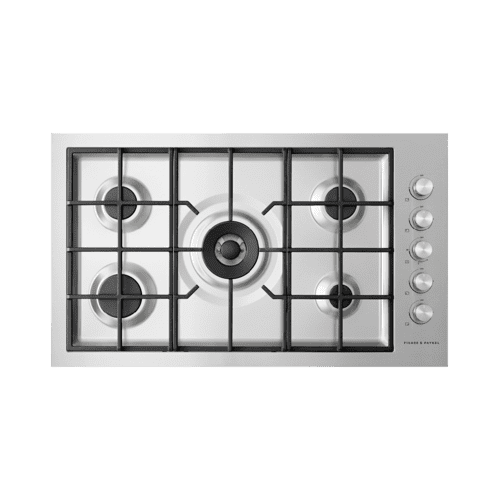 "Gas on Steel Cooktop, 36"", Flush Fit, LPG"