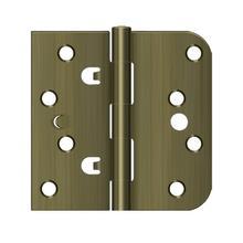 "View Product - 4"" x 4"" x 5/8"" x SQ Hinge - Antique Brass"