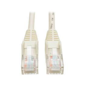 Cat5e 350 MHz Snagless Molded (UTP) Ethernet Cable (RJ45 M/M) - White, 10 ft.