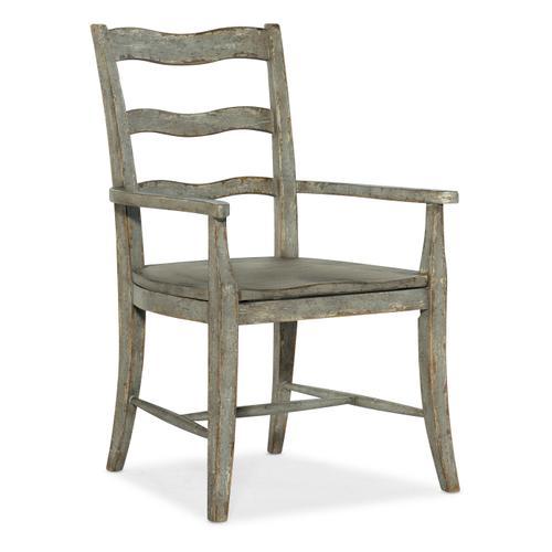 Alfresco La Riva Ladder Back Arm Chair - 2 per carton/price ea